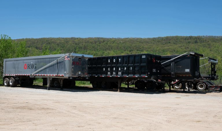 Roane Metals Group in East Tennessee's various roll-off dumpsters for industrial and commercial roll-off services