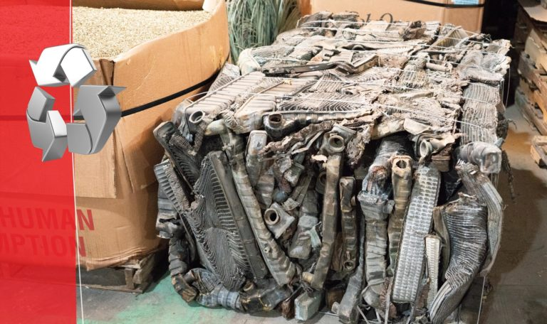 knowing what is scrap worthy and not is important when visiting a scrap yard near me - photoed here is a bunch of car parts that were scrapped at a knoxville scrap yard